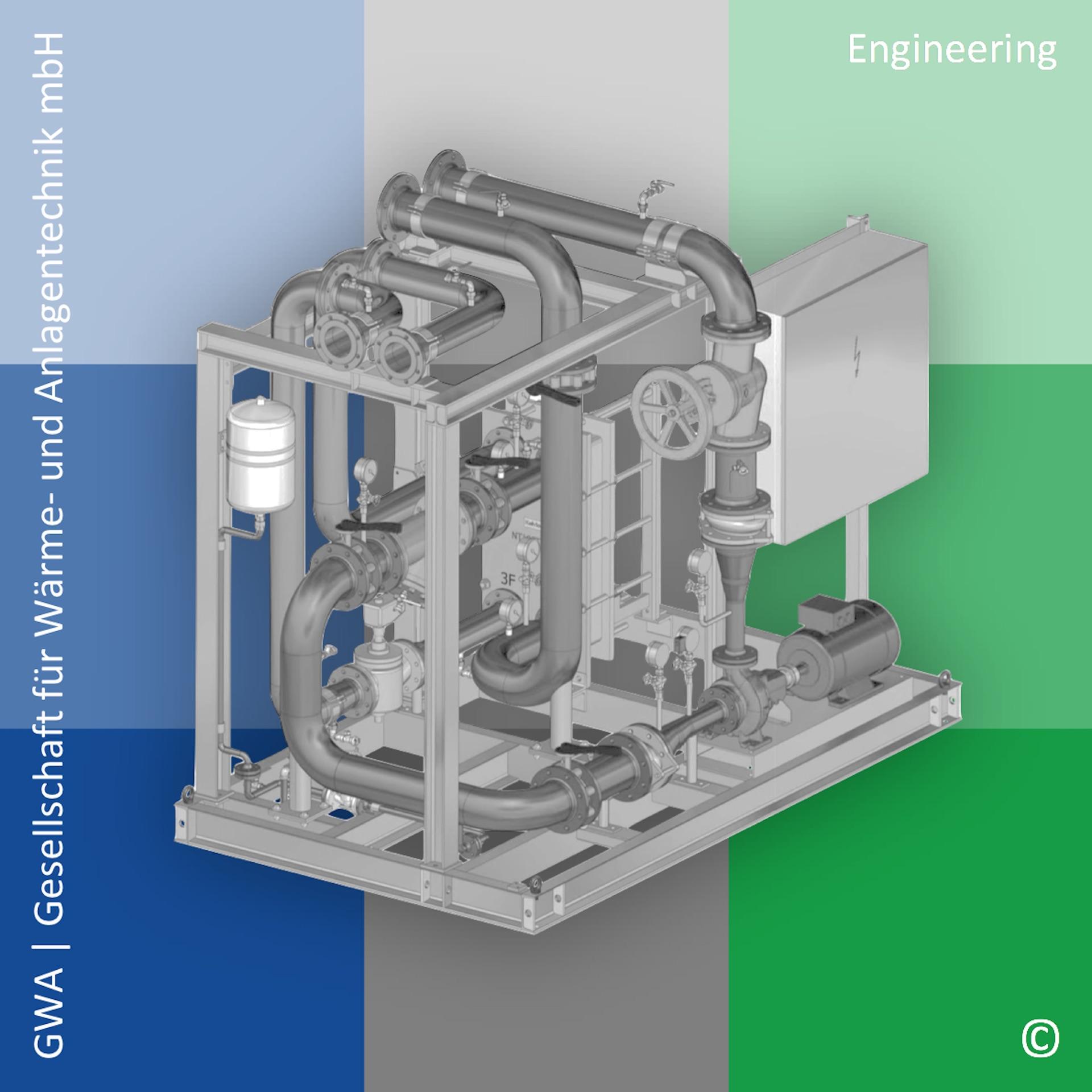GWA_Engineering_Waermeaustauscher_Plattenwaermeaustauscher_Pumpenskid_mit_Plattenwaermetauscher_1_Gesellschaft_fuer_Waerme_und_Anlagentechnik